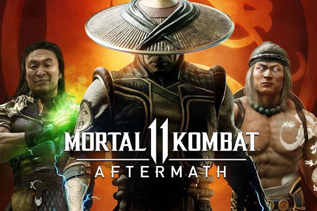 Mortal Kombat 11: Aftermath DLC Menghadirkan Karakter, Stage, danCerita Baru