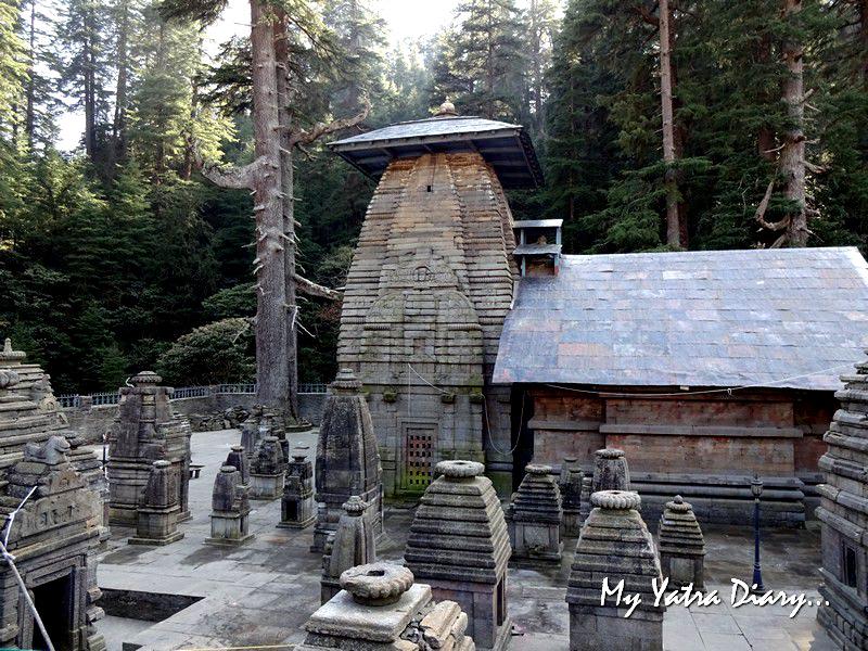 Cluster of temples Jageshwar Uttarakhand