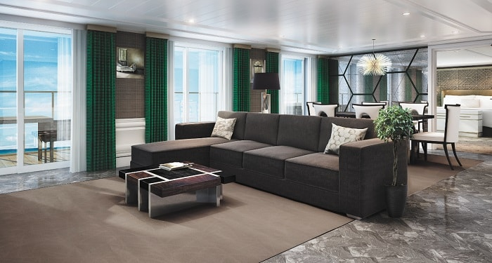 The Grand Suite - Regent Seven Seas Cruises®