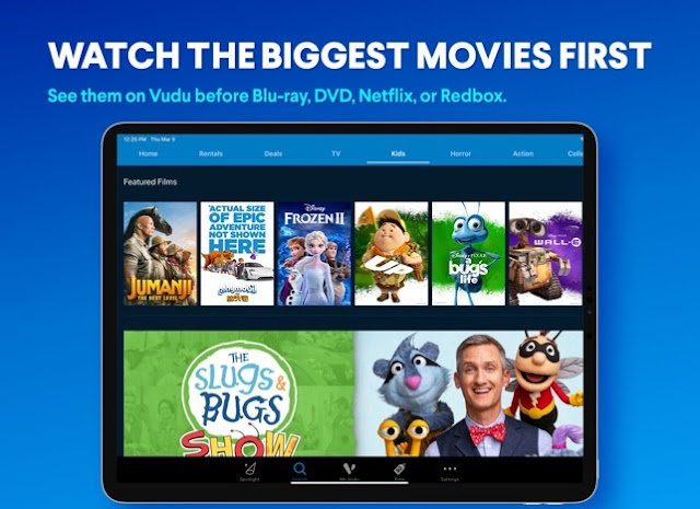 How To Download Vudu Movies On iPad