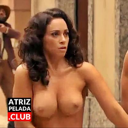 Suzana Pires COMPLETAMENTE nua em cena de novela
