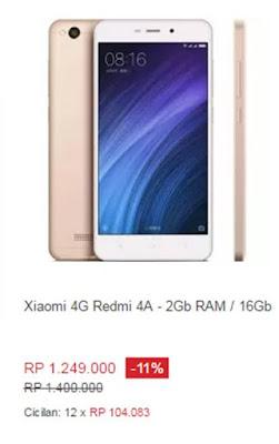 Xiaomi Redmi 4A - 2 GB / 16 GB