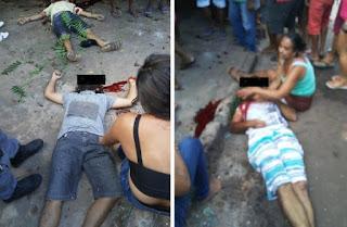 Briga entre ciganos mata quatro e fere 5; feridos foram para o hospital