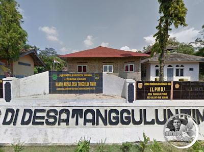 FOTO 1 : Desa Tanggulun Timur, Kecamatan Kalijat