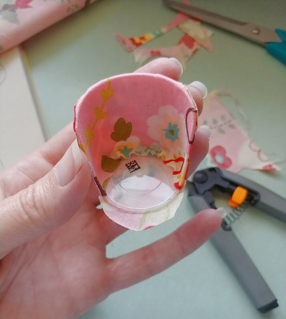 DIY Dollhouse Chair From a Medicine Cup