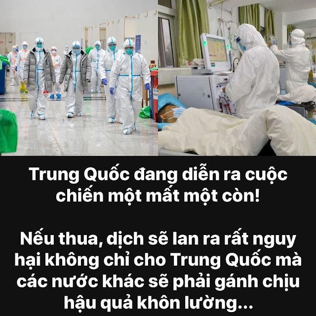 Tình hình dịch bệnh Covid-19 ở Hồ Bắc và Vũ Hán TQ ngày càng trở nên nghiêm trọng