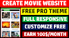 How To Create Movie Downloading Website On Blogger 2020 | Movie Website Kaise banaye