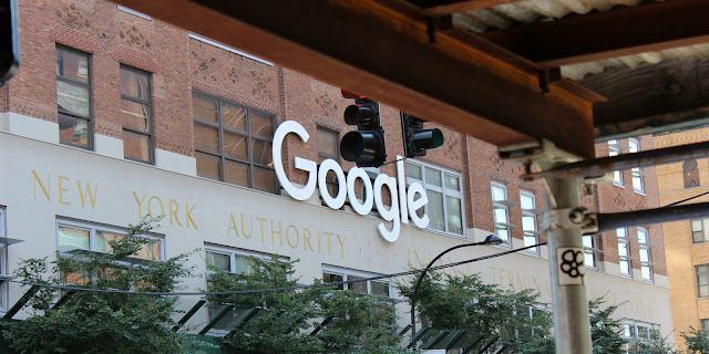 Google Logo NYC