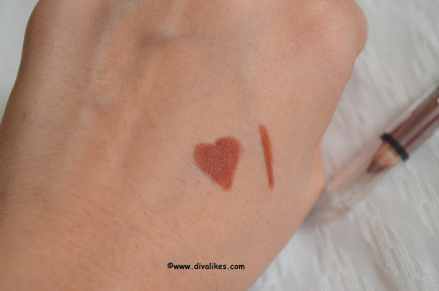 Wet n Wild Coloricon Lip Liner Chestnut / Marron 711 Swatch
