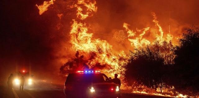 Api Hanguskan AS, Joe Biden Salahkan Donald Trump Yang Tak Pernah Percaya Perubahan Iklim