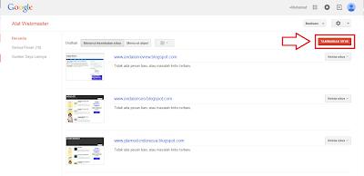 Cara Submit Sitemap Blogger di Webmaster Tools, Webmaster Tools, Sumbit Sitemap ke Webmaster