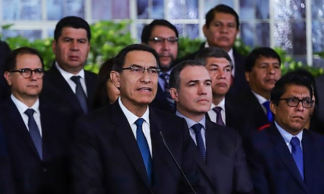 Martín Vizcarra - Mensaje a la Nación
