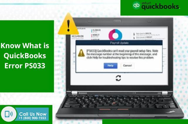 What is QuickBooks Error PS033
