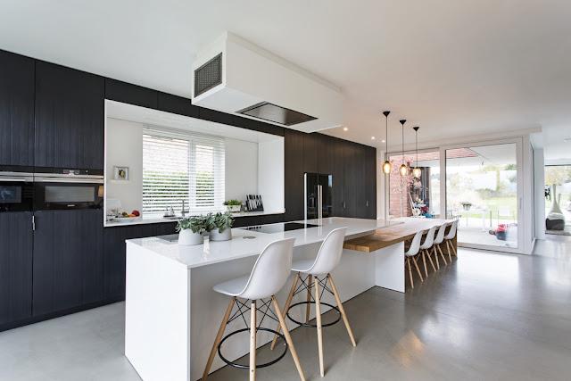 betonvloer, keuken, goed idee, coating, impregneren