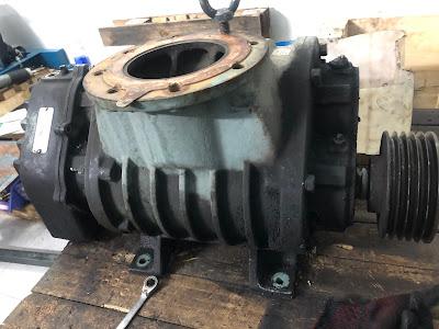 Khảo sát sửa chữa máy thổi khí