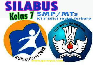 Silabus Prakarya K13 Kelas 7 Semester 1 dan 2 Edisi Revisi 2020