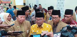 Gubernur Jambi Secara Resmi Membuka FGD ORWIL ICMI Provinsi Jambi.