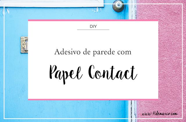 Adesivo de Parede com Contact