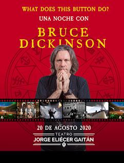 Una Noche con BRUCE DICKINSON en Bogotá 2020