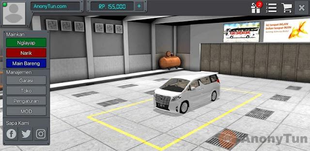 MOD BUSSID Mobil Toyota Alphard