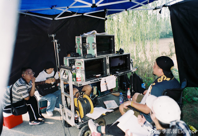 My Love, Enlighten Me cdrama behind the scenes