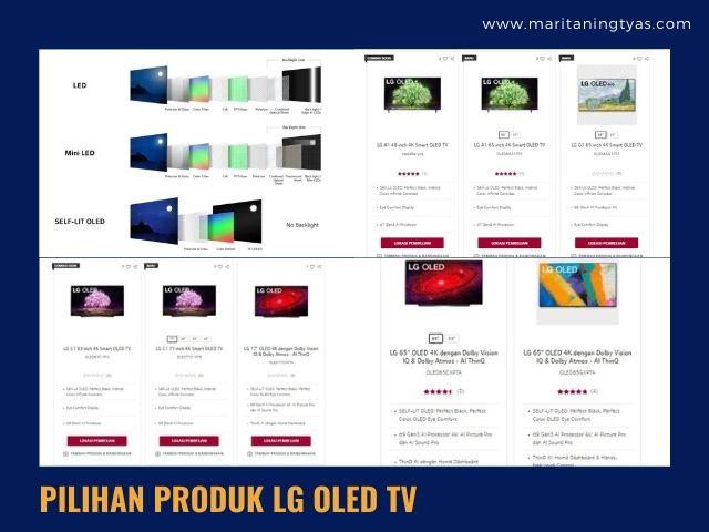 produk TV LG OLED