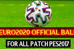 Official Euro 2020 Ball - PES 2017
