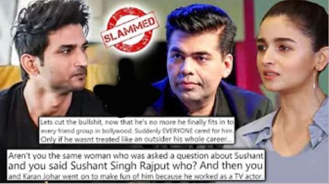 sushant-singh-rajput-death-users-getting-trolled-karan-johar-and-alia-bhatt-now-swara-bhaskar-takes-netizens