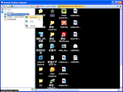 Remote Desktop Organizer (RDO)