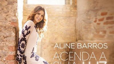 Veja a capa do CD: Acenda a sua Luz da Aline Barros