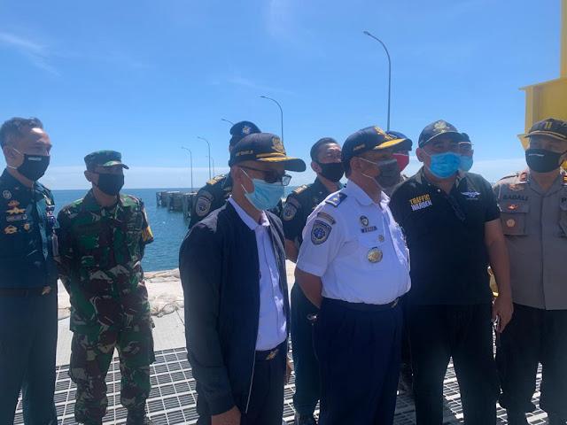 Direktur Ahmad Tegaskan Protokol Kesehatan Tetap Diterapkan di Pelabuhan