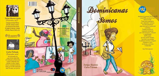 Dominicanas somos, banda deseñada, Polo Correo do Vento.