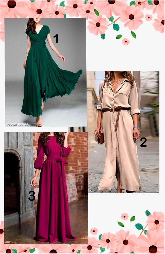 Berrylook cheap maxi dresses