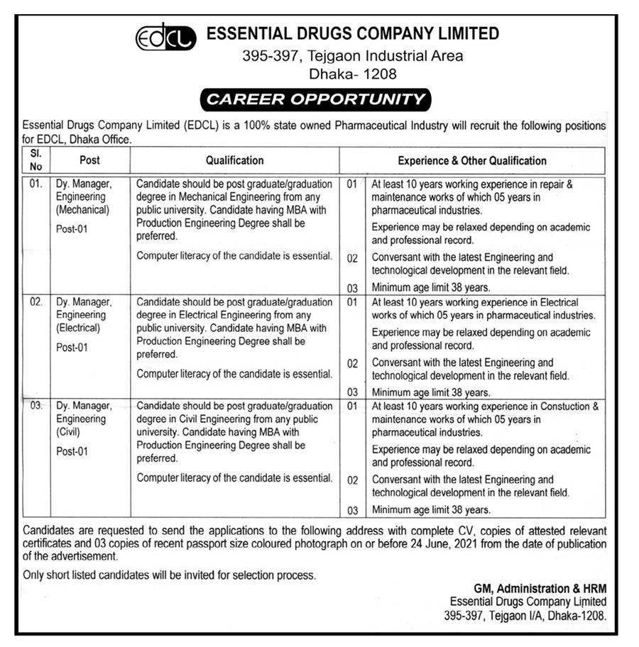 Recent All Pharmaceuticals job circular 2021 - ঔষধ কোম্পানিতে চাকরির খবর ২০২১ - বেসরকারি চাকরির খবর ২০২১ - BD JOBS MEDIA