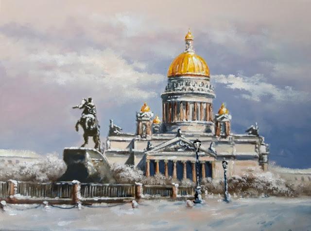 Картина Памятник Петру 1