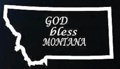 god bless Montana