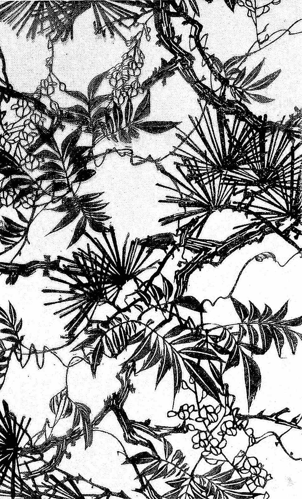 an 1800s Japan papercut ornament
