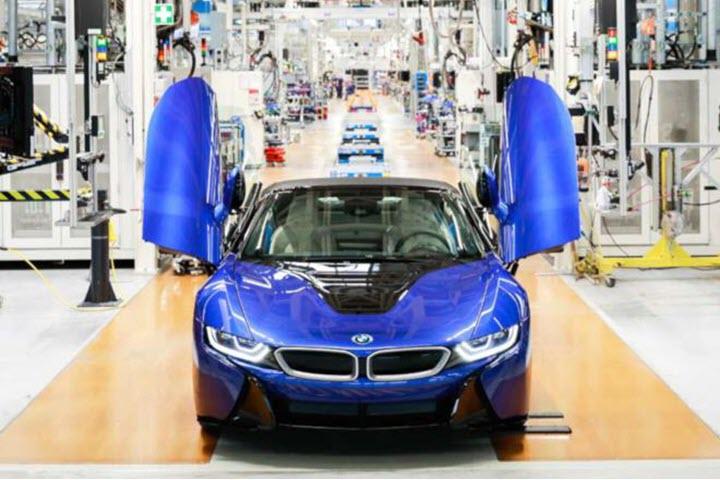 Chiếc BMW i8 cuối cùng xuất xưởng với màu độc đáo