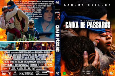 Filme Caixa de Pássaros (Bird Box) DVD Capa
