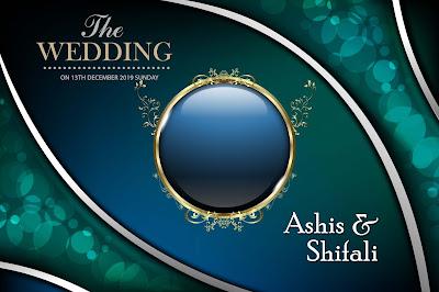 Wedding Album Cover Page Design