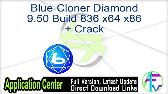 Blue-Cloner Diamond 9.50 Build 836 x64 x86 + Crack