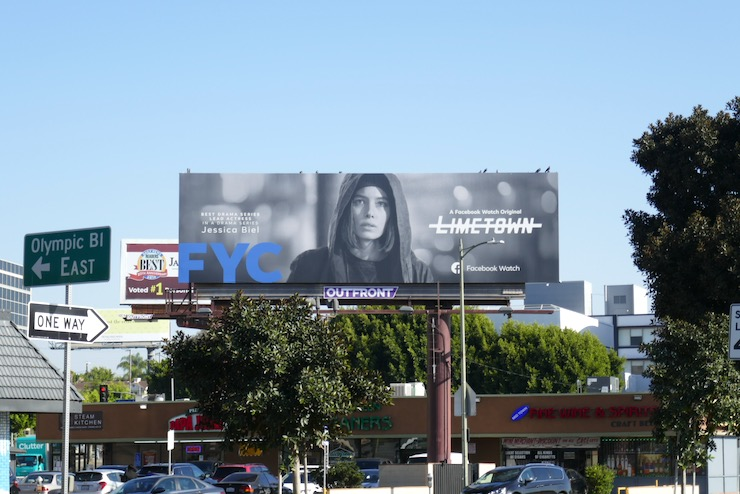 Limetown 2019 FYC billboard