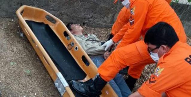 Sem comer e beber há 3 dias, jovem da Barragem Leste é resgatado por Bombeiros de Delmiro Gouveia