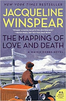 The Mapping of Love and Death by Jacqueline Winspear (Book cover)