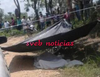 Hallan un ejecutado en la comunidad López Mateos de Minatitlan Veracruz