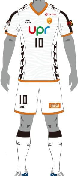 レノファ山口FC 2018 ユニフォーム-FP-2nd