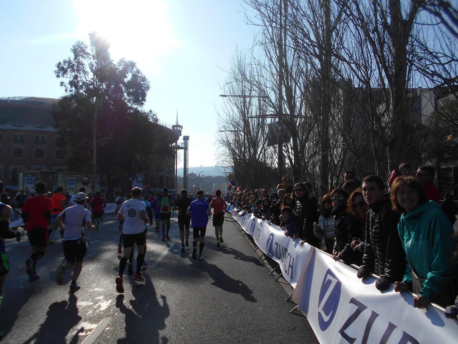 Montagne passion trail mon marathon de barcelone for Portent of passage 5
