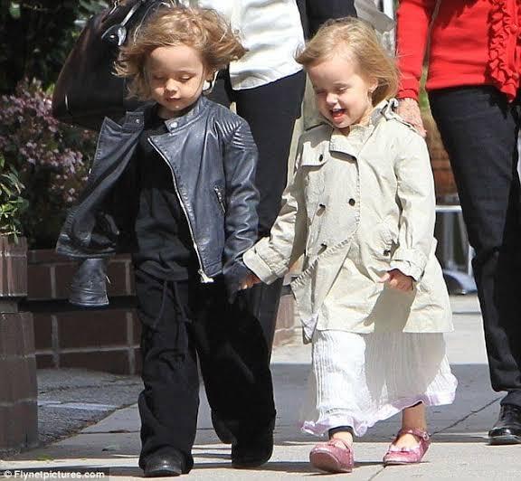 Knox and Vivienne Pitt Jolie