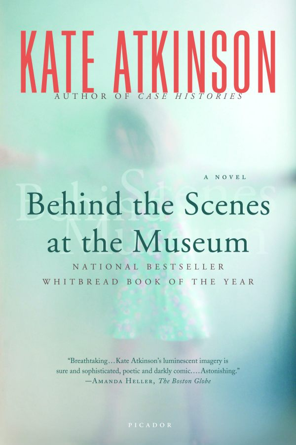 Book cover for Kate Atkinson's Behind the Scenes at the Museum in the South Manchester, Chorlton, and Didsbury book group