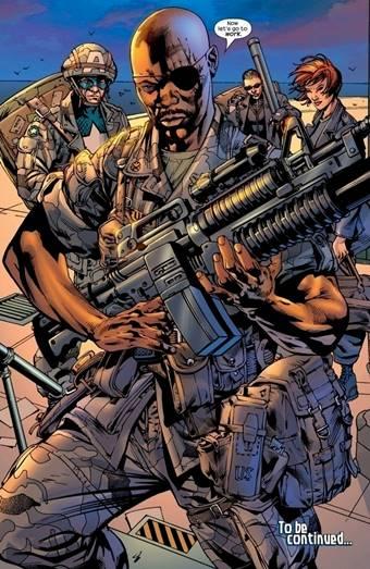 En el universo Ultimate, Nick Fury es negro